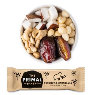 The Primal Pantry Kokosnuss & Macadamia 45g