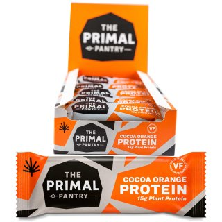 The Primal Pantry Cocoa Orange Protein Riegel 55g