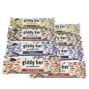 Giddy Bar Snack Probierpaket mit 8 Riegeln - Just Fruits...