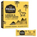 The Primal Pantry Energieriegel Lemon & Poppy Seed 4...