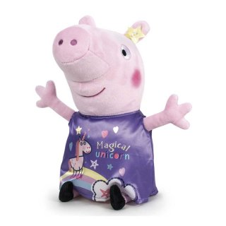Peppa Pig Plüschtier 38cm Peppa Wutz Magical Unicorn