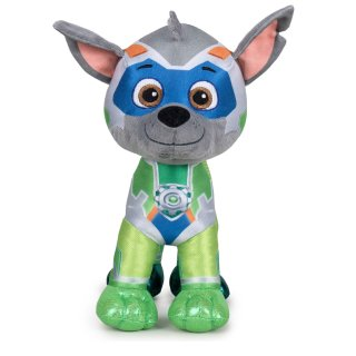 Paw Patrol Rocky Plüschtier 28cm Mischlingswelpe Mighty Pups